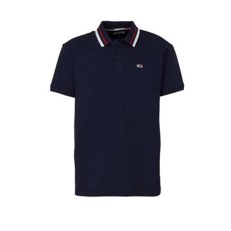 Tommy Jeans polo marine