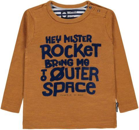 Tumble 'N Dry Jongens T-shirt Sebbe - Yellow Curry