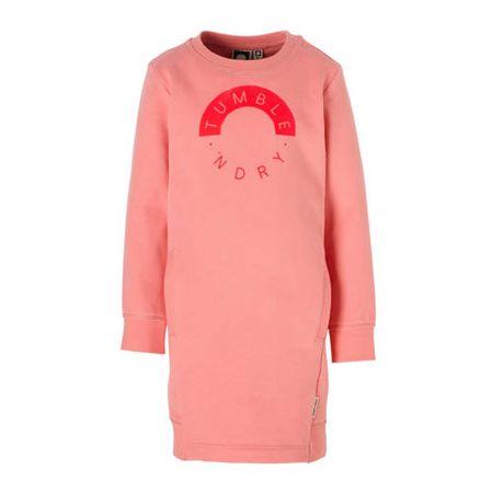 Tumble 'n Dry Mid sweatjurk Barlienia met logo roze