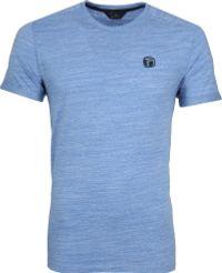Vanguard Slub T-shirt Lichtblauw