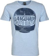 Vanguard T-shirt Motor Jersey Blauw
