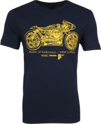 Vanguard V850 T-shirt Motor Navy