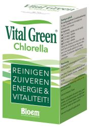 Vital Green Chlorella Tabletten 1000st