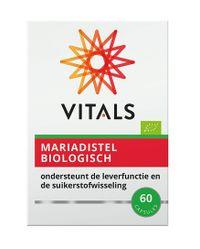 Vitals Mariadistel biologisch 60 capsules