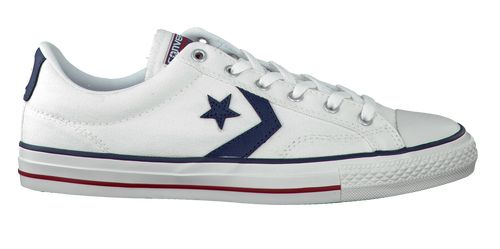 Witte Converse Sneakers Star Player Ox