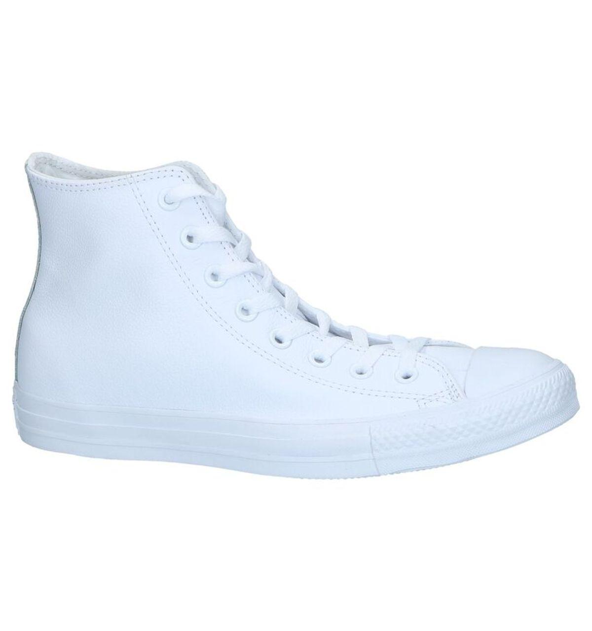 7636ac08055 Converse Witte Lederen Sneakers CT All Star Hi - Vergelijk prijzen