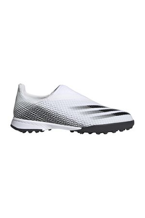 X Ghosted.3 Laceless Turf Boots White
