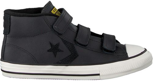 Zwarte Converse Sneakers Star Player 3v Mid