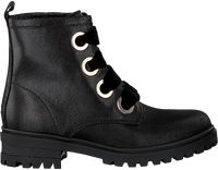 Zwarte Tommy Hilfiger Veterboots METALLIC CLEATED LACE UP BOOT